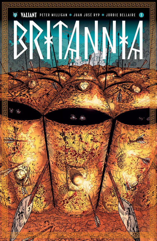 Britannia #1 (10 Copy Guinaldo Cover)