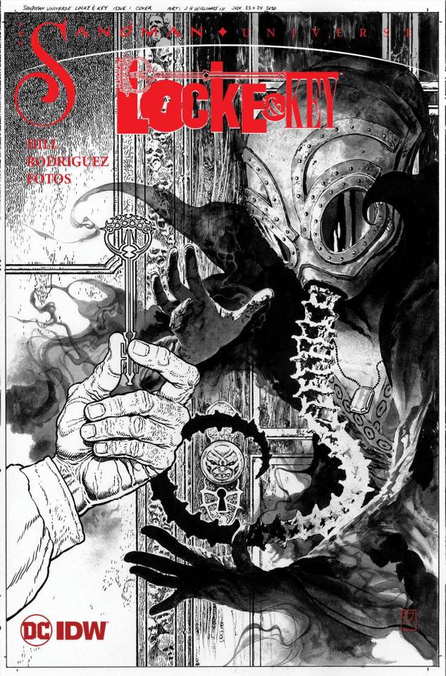 Locke & Key / Sandman: Hell & Gone #1 (25 Copy J.H. Williams Cover)