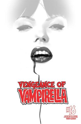 Vengeance of Vampirella #16 (30 Copy Oliver B&W Cover)