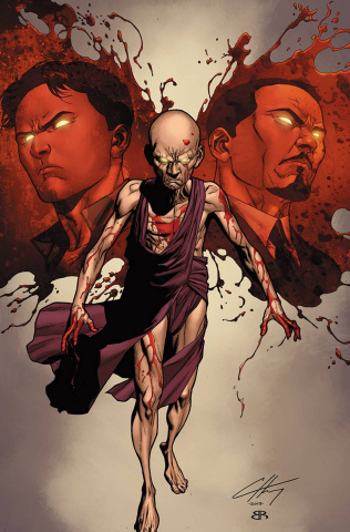 Harbinger: Bleeding Monk #0.2014 (Henry Cover)
