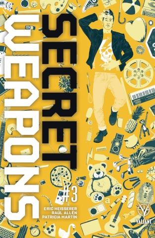 Secret Weapons #3 (Allen Cover)