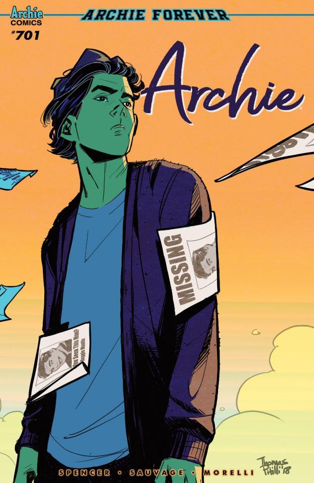 Archie #701 (Pitilli Cover)