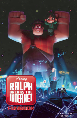 Wreck It Ralph 2 Fun Book