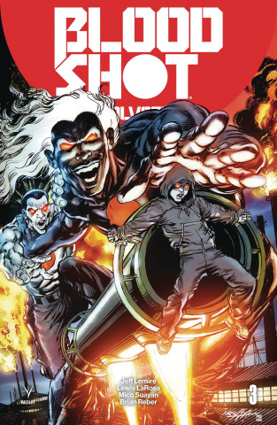 Bloodshot: Salvation #3 (50 Copy Icon Adams Cover)