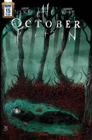 The October Faction #15 (Art Appreciation Cover)