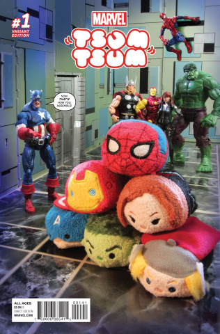 Marvel Tsum Tsum #1 (Photo Cover)