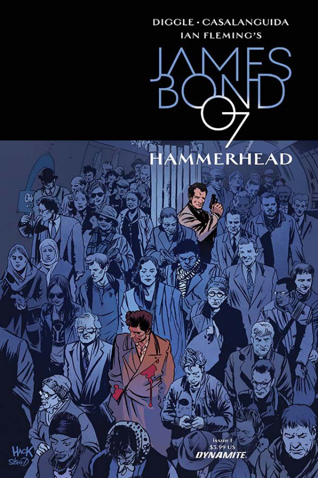James Bond: Hammerhead #1 (Hack Cover)