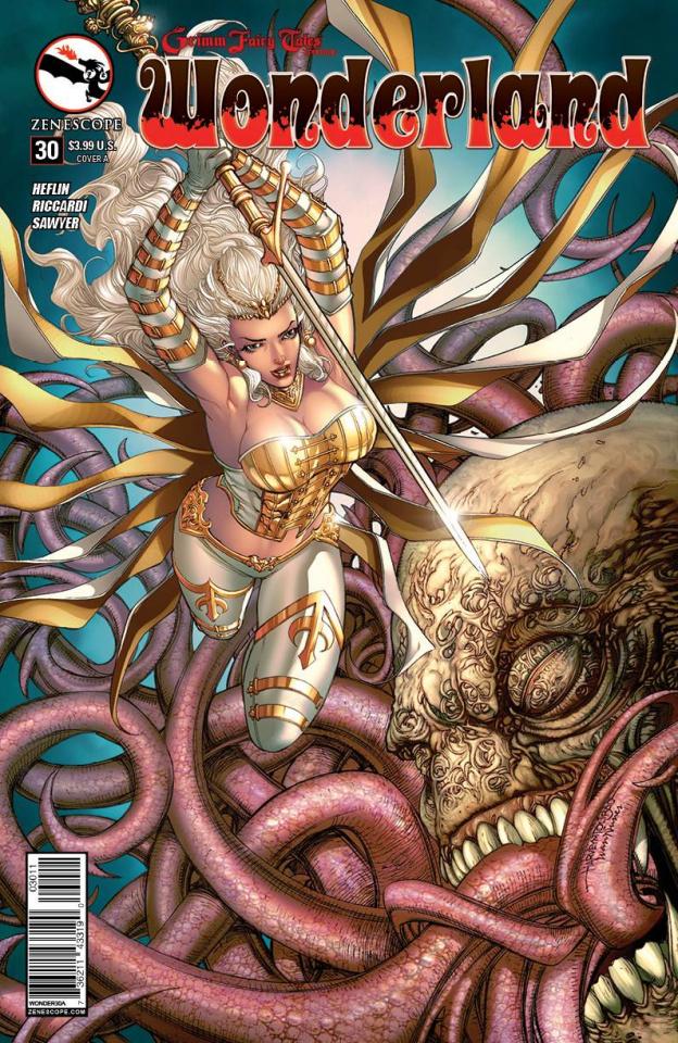 Grimm Fairy Tales: Wonderland #30 (Tolibao Cover)