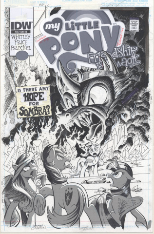 My Little Pony: Friendship Is Magic #35 (10 Copy Cover)
