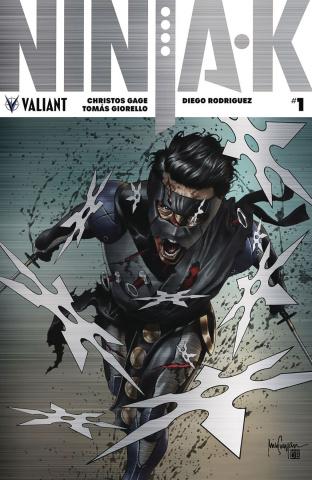 Ninja-K #1 (250 Copy Brushed Metal Suayan Cover)