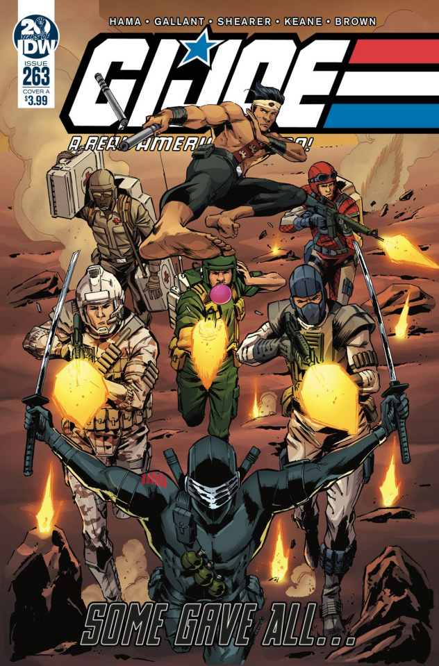 G.I. Joe: A Real American Hero #263 (Diaz Cover)