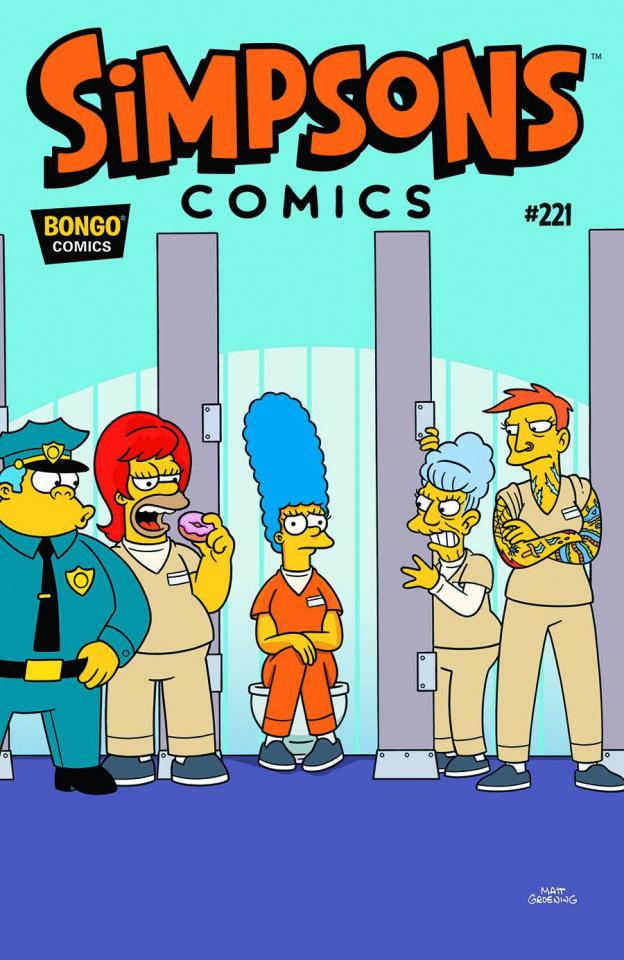 Simpsons Comics #221