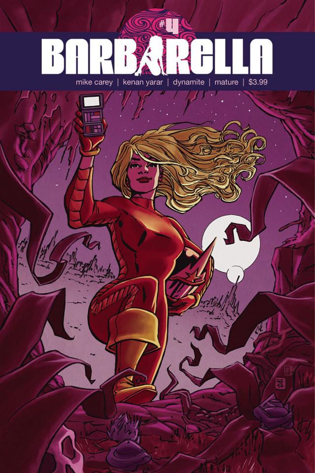 Barbarella #4 (Sudzuka Cover)