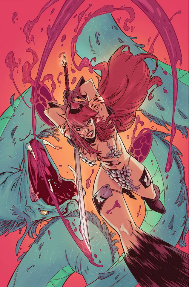 Red Sonja #28 (10 Copy Miracolo Virgin Cover)