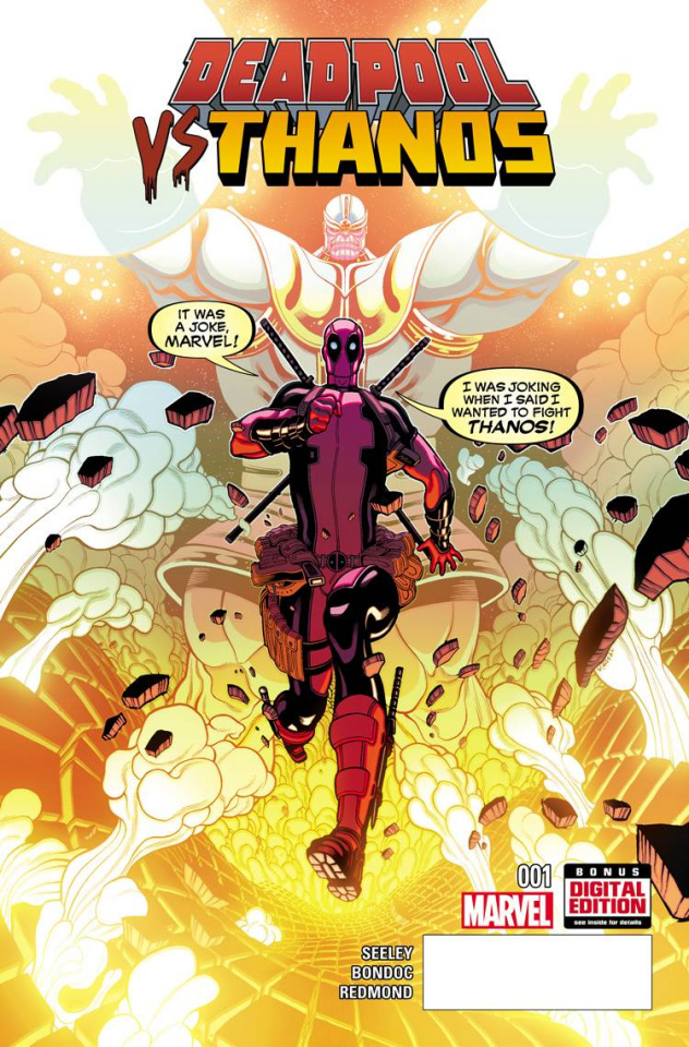 Deadpool vs. Thanos #1