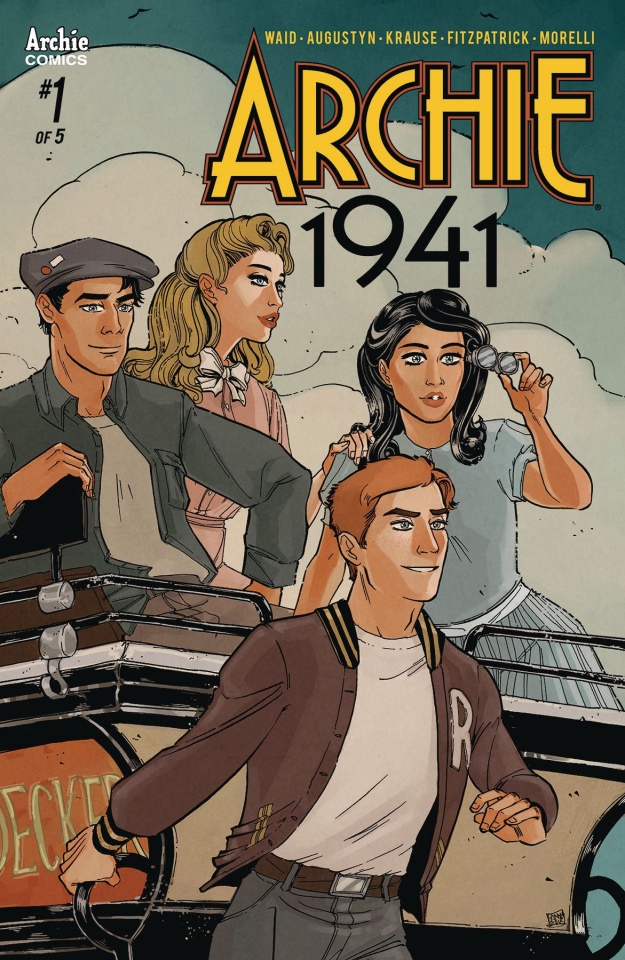 Archie: 1941 #1 (Anwar Cover)