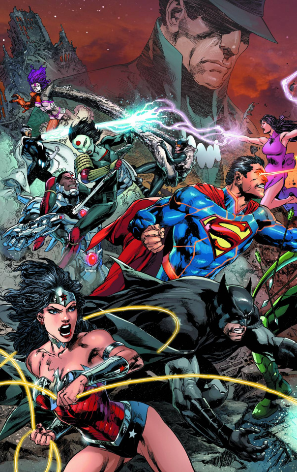 Justice League #22 (Trinity Variant)