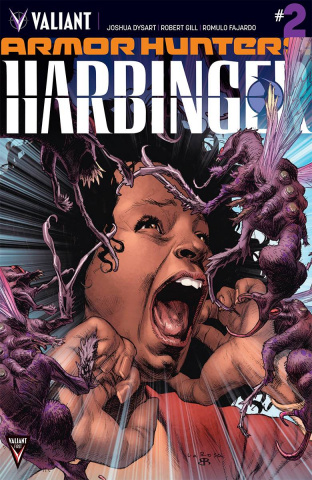 Armor Hunters: Harbinger #2 (Larosa Cover)