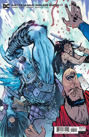 Justice League: Endless Winter #1 (Daniel Warren Johnson Card Stock Cover)