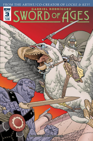 Sword of Ages #3 (Rodriguez Cover)