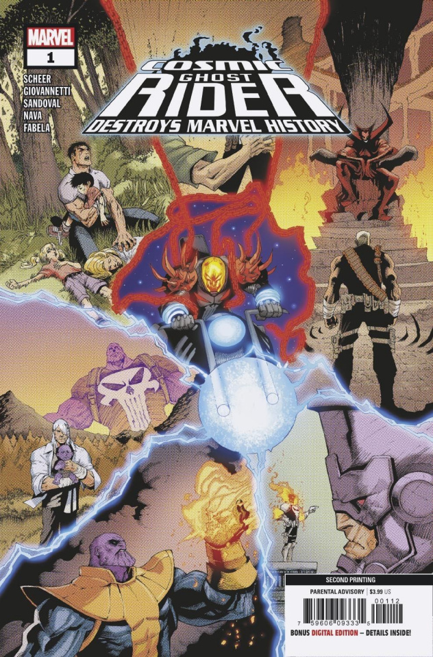 Cosmic Ghost Rider Destroys Marvel History #1 (2nd Printing)