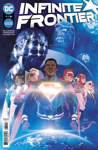 Infinite Frontier #1 (Mitch Gerads Cover)