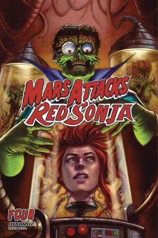 Mars Attacks / Red Sonja #4 (Strati Cover)