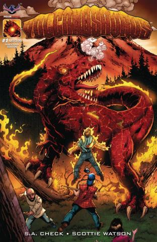 Volcanosaurus #1 (Ferocious Bonk Cover)