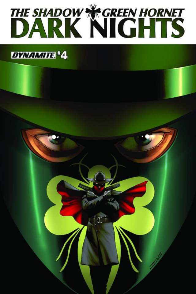The Shadow / Green Hornet: Dark Nights #4 (Cassaday Cover)