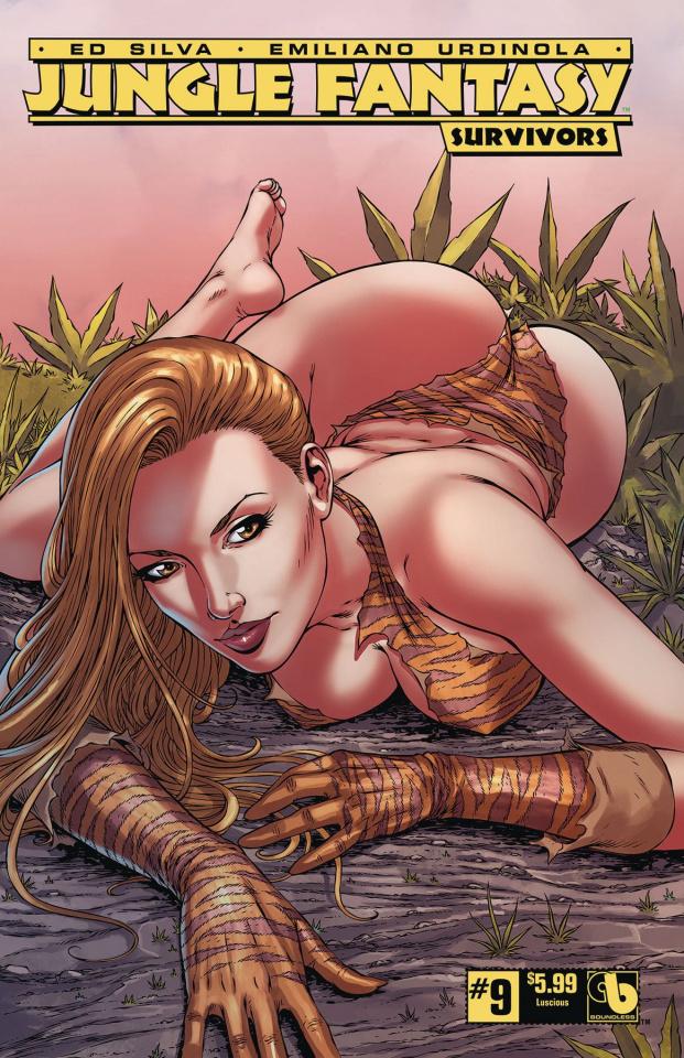 Jungle Fantasy: Survivors #9 (Luscious Cover)