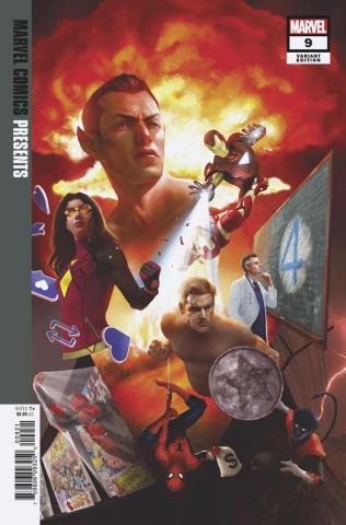 Marvel Comics Presents #9 (Rahzzah Cover)