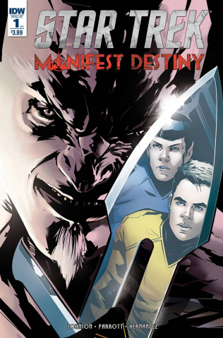 Star Trek: Manifest Destiny #1