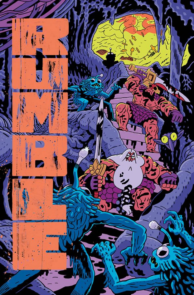 Rumble #17 (MacLean Cover)