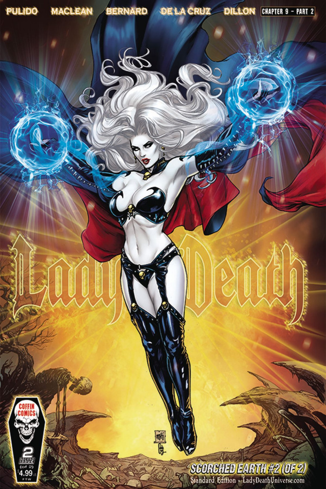 Lady Death: Scorched Earth #2 (Standard Cover)