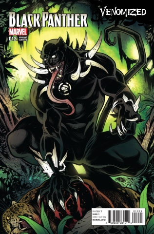 Black Panther #12 (Torque Venomized Cover)