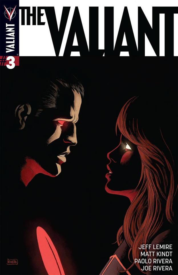 The Valiant #3 (Rivera Cover)