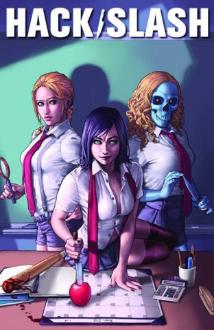 Hack/Slash #5 (Esquejo Cover)