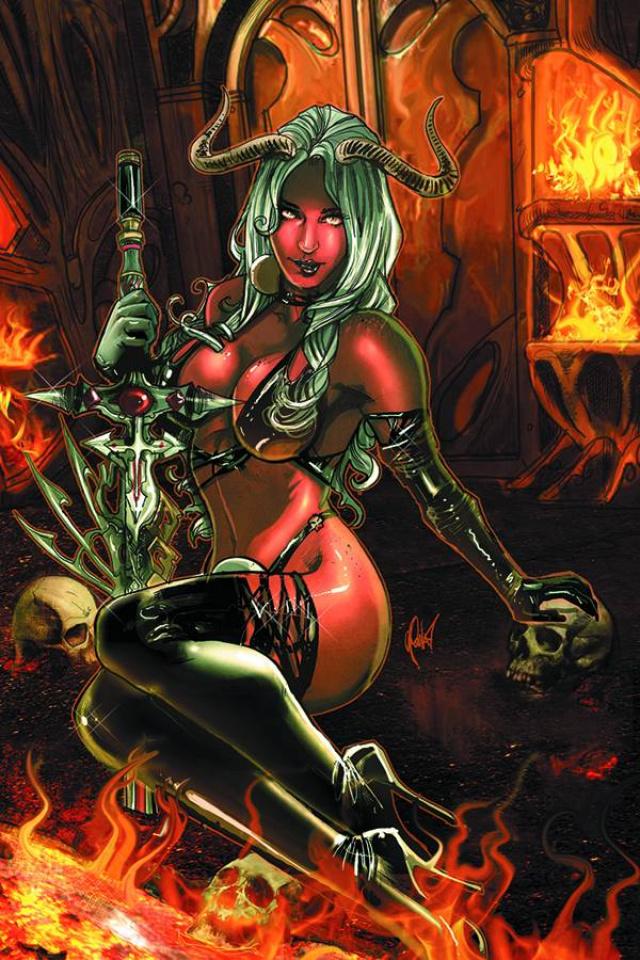 Lady Demon #4 (15 Copy Poulat Virgin Cover)