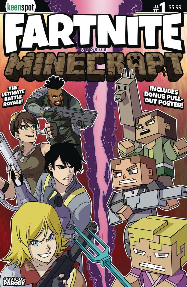 Fartnite vs. Minecrapt #1 (Mokhtar Cover)