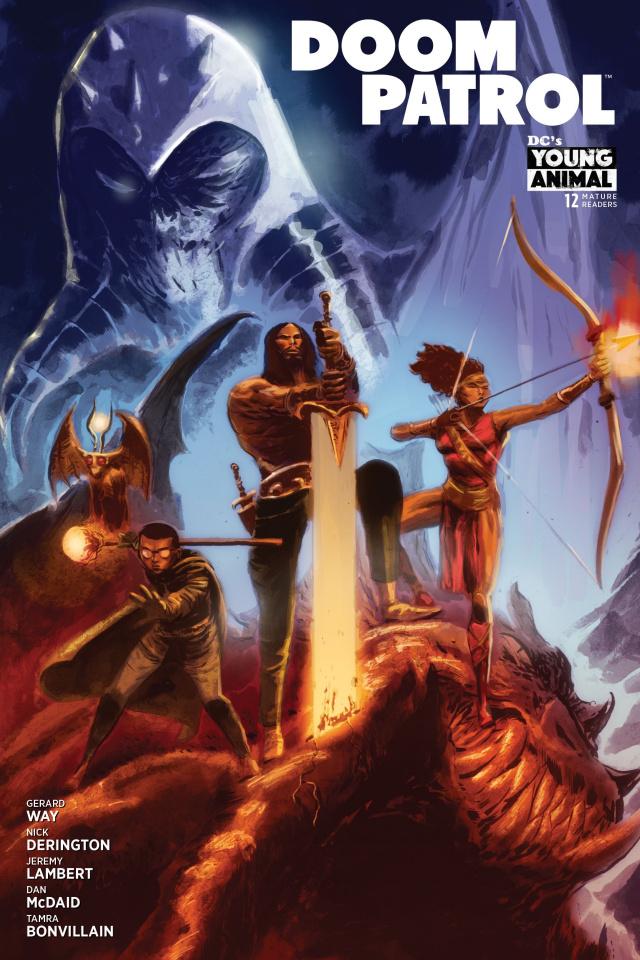 Doom Patrol #12 (Variant Cover)