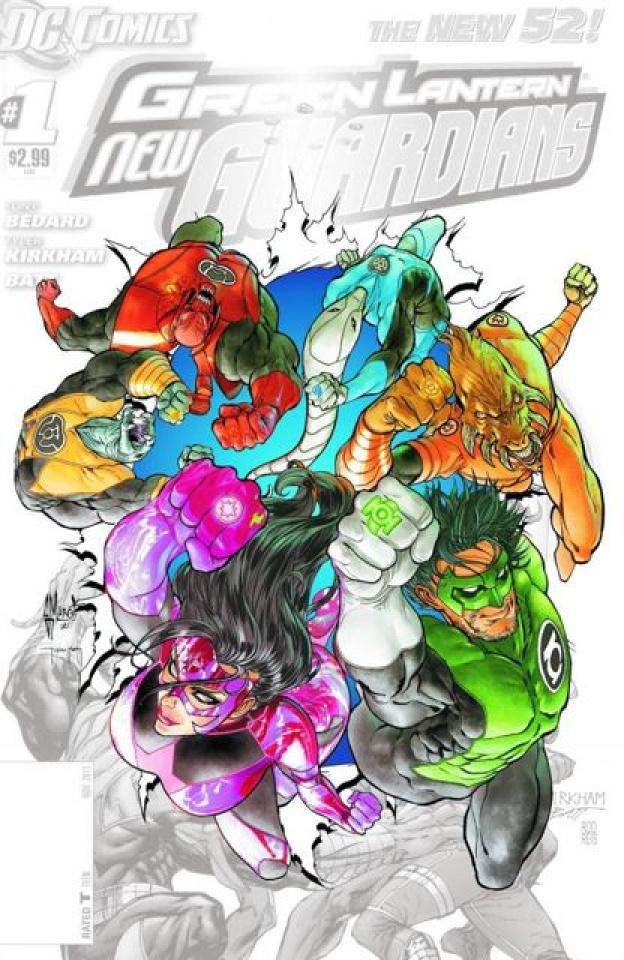 Green Lantern: New Guardians #0
