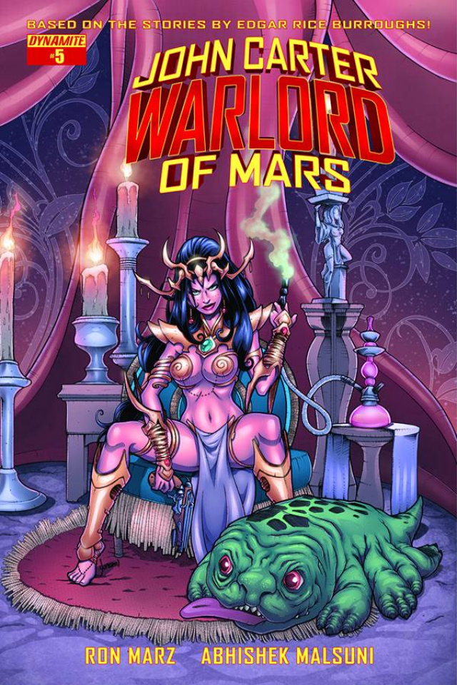 John Carter: Warlord of Mars #5 (Subscription Cover)