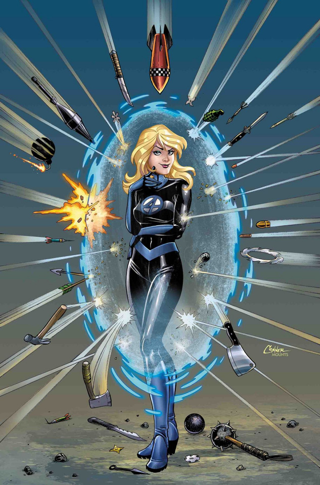 Invisible Woman #2 (Conner Cover)
