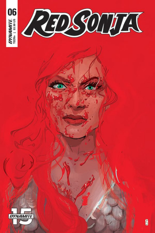 Red Sonja #6 (Ward Cover)