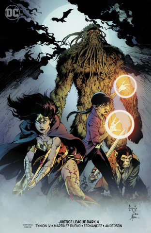 Justice League Dark #4 (Witching Hour Variant Cover)