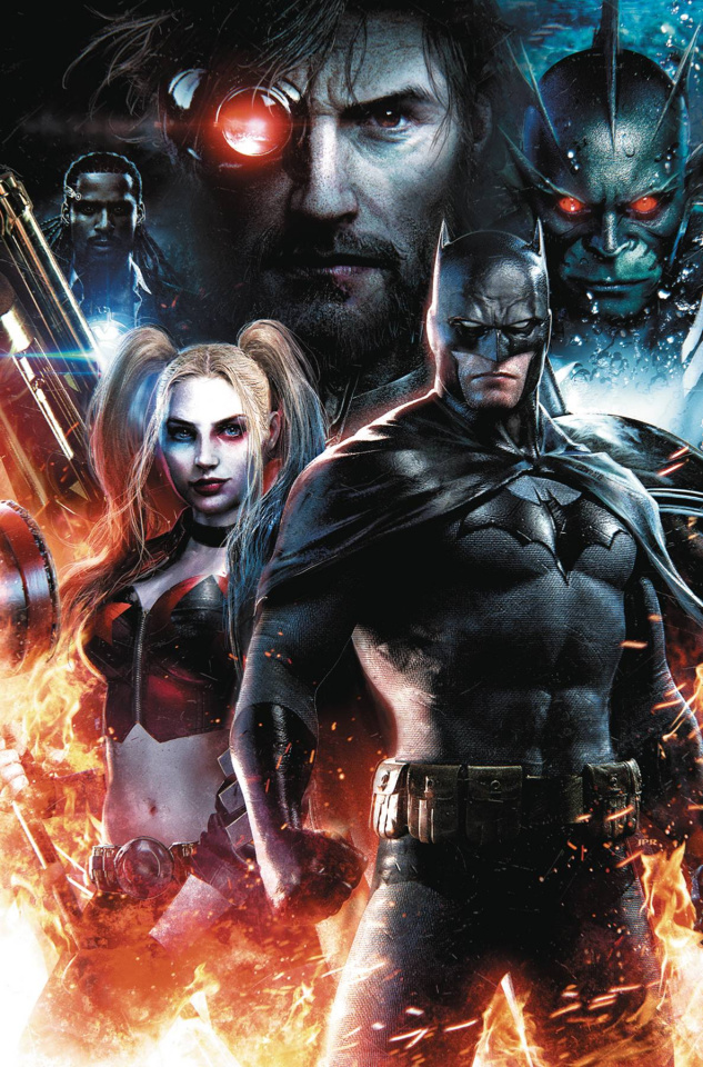 Suicide Squad #6 (Jeremy Roberts Cover)