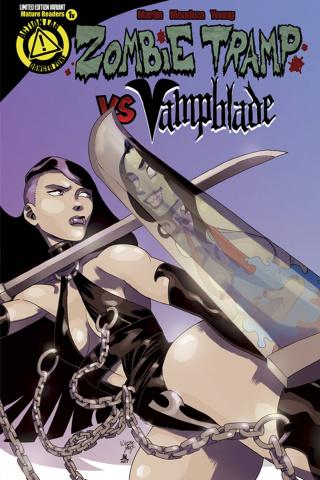 Zombie Tramp vs. Vampblade #1 (Vampblade Cover)