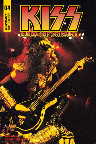 KISS: Blood and Stardust #4 (Photo Cover)