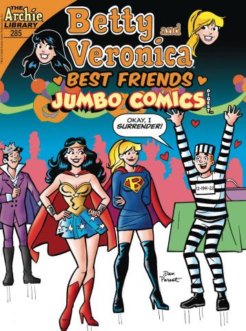 B & V Best Friends Jumbo Comics Digest #285