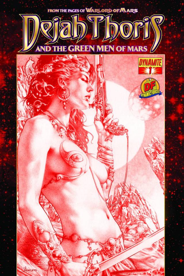 Dejah Thoris & The Green Men of Mars #1 (Risque Cover)